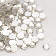 6.5mm Flat Back Rhinestone - CLEAR