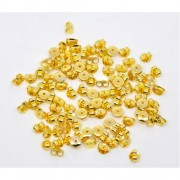 5mm Butterfly Ear Nut Earring Backs Stopper - GOLD