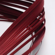 Paper Quilling Strips - Dark Red
