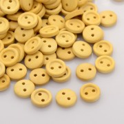 10mm ROUND Wooden Buttons