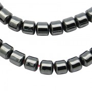 3mm Magnetic Synthetic Hematite Beads - COLUMN