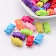 "13mm ""CANDIES"" Acrylic Beads -  MIXTURE"