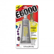 E-6000® Jewelry & Bead™, includes 4 tips. Sold per 1-fluid ounce tube.