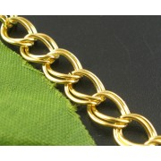 8mmx7mm Double Loops Link Chains Findings - 2 colours availble