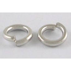 10mm Jump Rings - Nickel Colour