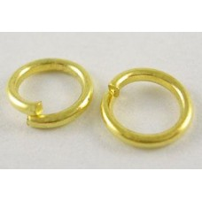 10mm Jump Rings - Gold