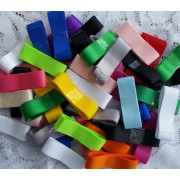 "20METRES - 7/8"" Mixture of SOLID Grosgrain Ribbon"