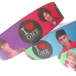 "1"" or 25mm One Direction Grosgrain Ribbon (5METRES)"
