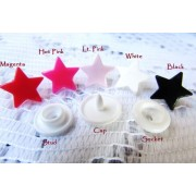 KAM STAR Snap Buttons Size 20 (12.4mm) - 5 colours available