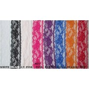 NON ELASTIC LACE TRIM - 8 colours available