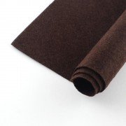 300mm x 200mm x 2mm Felt Sheets - Coconut Brown