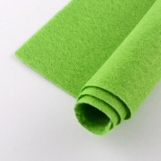 300mm x 200mm x 2mm Felt Sheets - Lawn Green