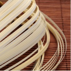 Paper Quilling Strips - Antique White