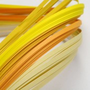 Paper Quilling Strips - Yellow Series