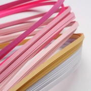 Paper Quilling Strips - Pink Series