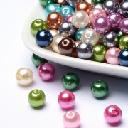 8mm Imitation Acrylic Beads - MIXED