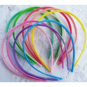 8mm Coloured Plastic Headband