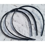 9mm Plastic Headband - Black & Ivory