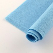 300mm x 200mm x 2mm Felt Sheets - Sky Blue