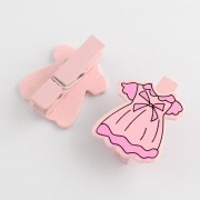 "Baby Shower Party ""DRESS"" Pegs -  6PCS/Card"