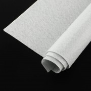 300mm x 300mm x 1mm Felt Sheets - White Smoke