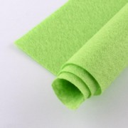300mm x 300mm x 1mm Felt Sheets - Lime
