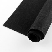 300mm x 300mm x 1mm Felt Sheets - Black