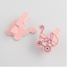 Baby Shower Party Pegs Decorations - 6PCS/Card 002