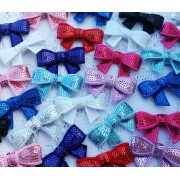 "2"" Sequin Bow - 10 colours available"