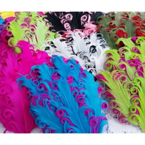 """5"""" Nagorie Feather Pad - 10 colours available"""