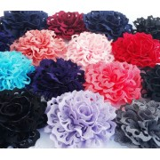 "2.7"" Eyelet Flower - 12 colours available"
