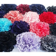"""2.7"""" Eyelet Flower - 12 colours available"""