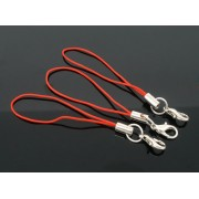 Cell Phone Lanyard / Lariat W/ Lobster Clasp - RED