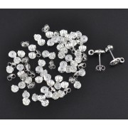 5mm Butterfly Ear Nut Earring Backs - 2 colours available