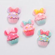 20mm Cupcake Flat Back Resin