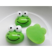 13mm Flat back Frog Resin Embellishment